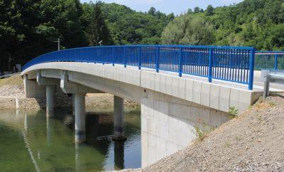 Otvorenje novoizgrađenog mosta na Veljunu