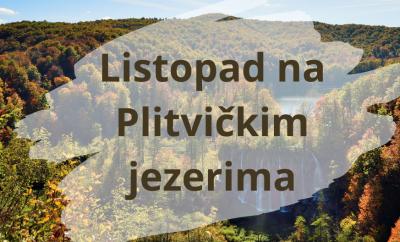 Listopad na Plitvičkim Jezerima