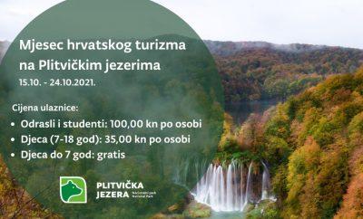Mjesec hrvatskog turizma na Plitvičkim jezerima
