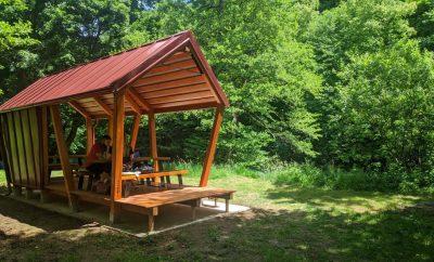A new place to relax alongside the river Slunjčica.