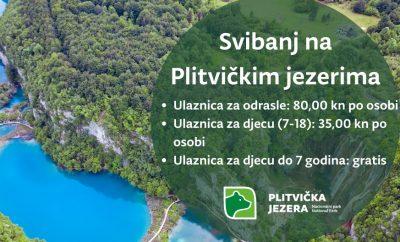 Svibanj na Plitvičkim jezerima